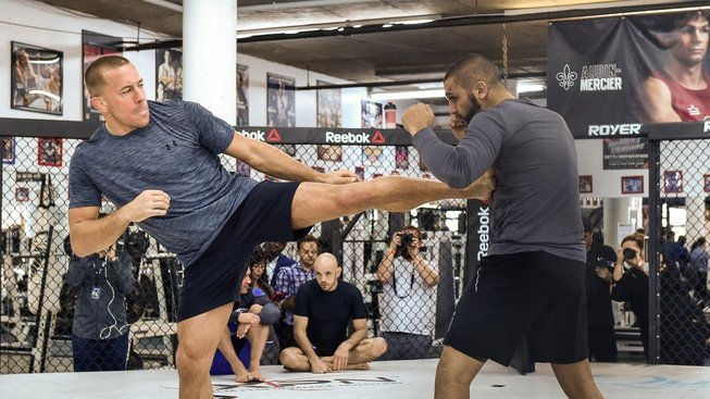 GSP vs Khabib Nurmagomedov. Trenér Firas Zahabi rozebral potenciální superfight