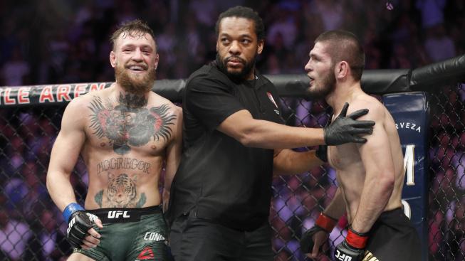 Připomeňte si jeden z nejvyhrocenějších zápasů v dějinách MMA. Před 2 lety McGregor vyzval neporaženého Khabiba