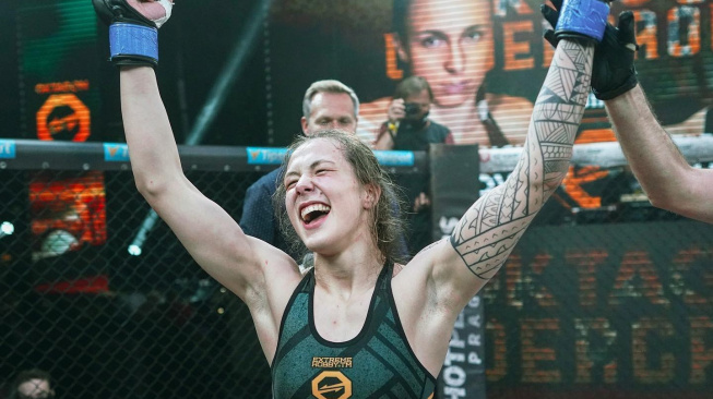 Bojovnice Tereza Bledá, která se už tento víkend utká o titul šampionky Undergroundu, podstoupila antidopingové testy