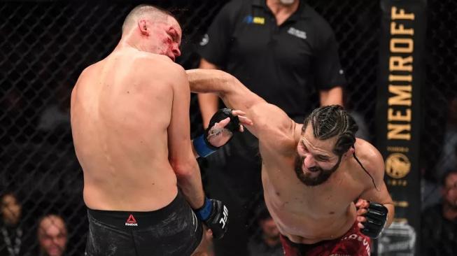 """UFC plánuje odvetu mezi Diazem a Masvidalem. A v sázce bude znovu titul """"BMF"""""""