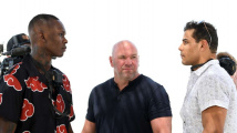 Adesanya vs Costa staredown