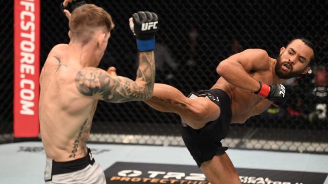 Premiéra v UFC rozjetému Angličanovi nevyšla, Kyler Phillips mu ukázal, že je to jiná liga