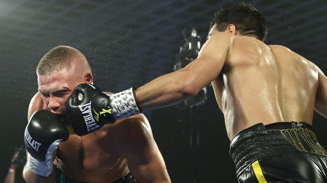 Šílený boxerský zápas roku mezi Zepedou a Baranchykem! Sedm knockdownů a jedno KO v pátém kole