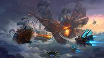 Kormidlujte létající bojovou loď v akční multiplayerovce Cloud Pirates
