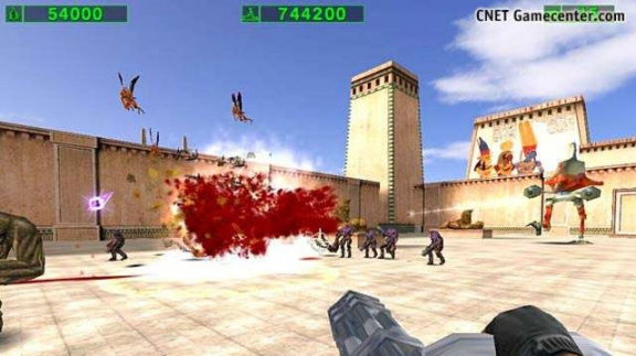 Multiplayer v Serious Sam: Second Encounter