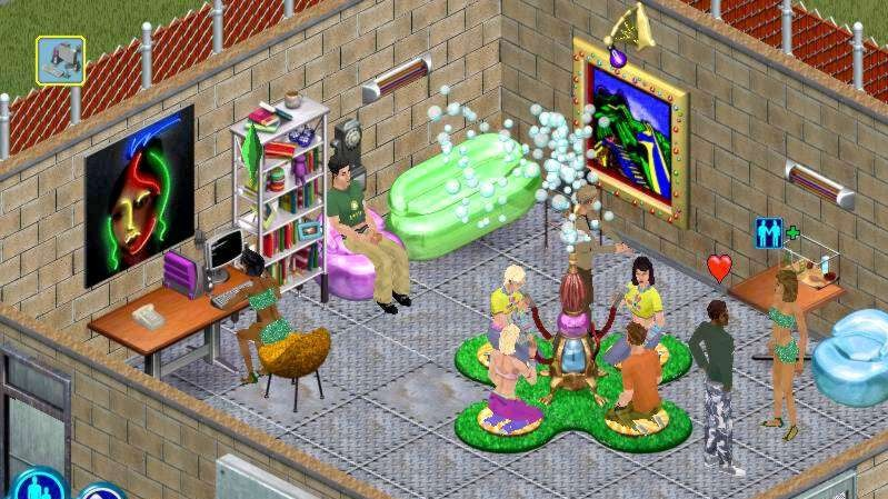 The Sims: House Party screenshoty