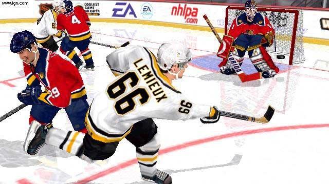 NHL 2002: chladivý koutek przničů češtiny