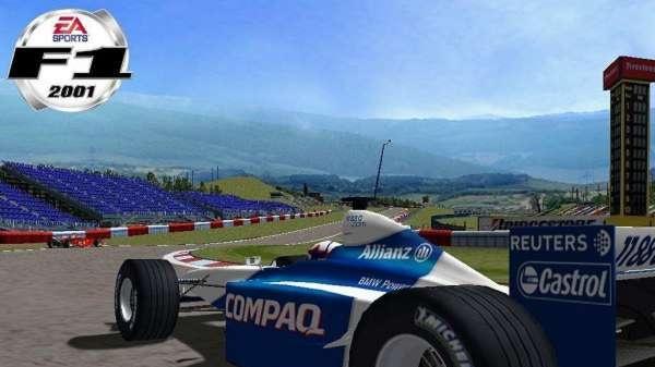 F1 2001 a SimsVille ECTS screenshoty