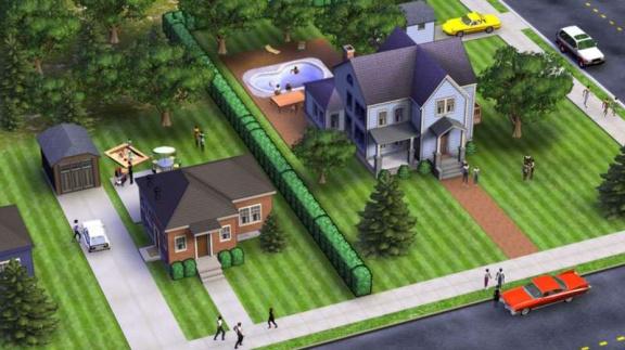 Nové obrázky ze SimsVille