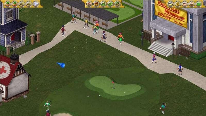 Golf Resort Tycoon - recenze