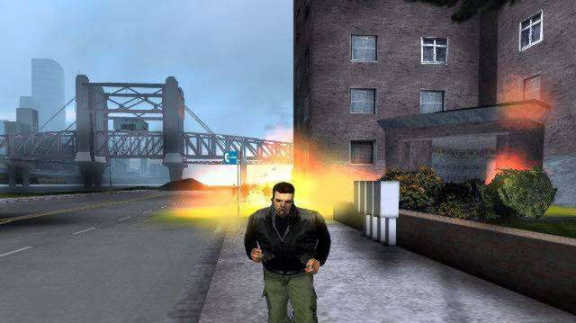 Grand Theft Auto III screenshoty