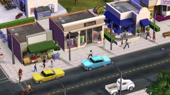 Rozhovor a obrázky ze SimsVille