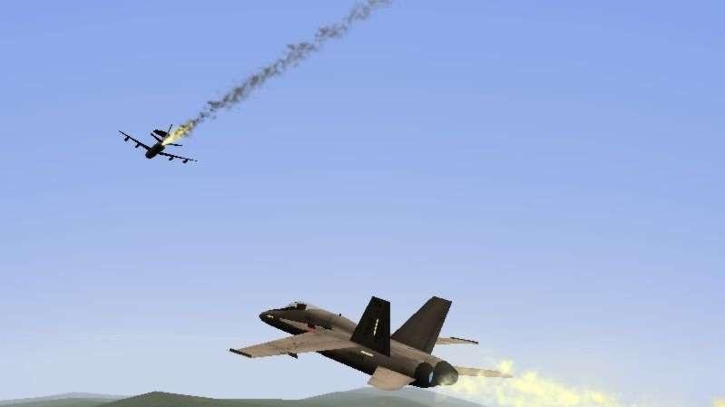 F/A-18 Precision Strike Fighter rec.