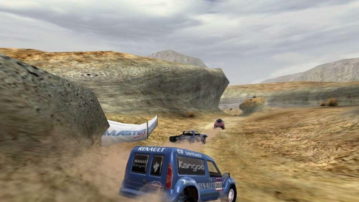 Master Rallye screenshoty