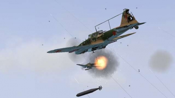 Il-2 Sturmovik se blíží