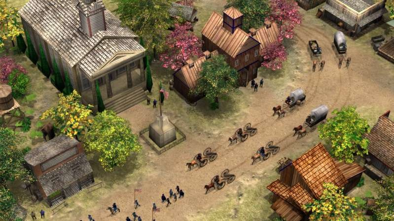 Sever proti Jihu v RTS Civil War