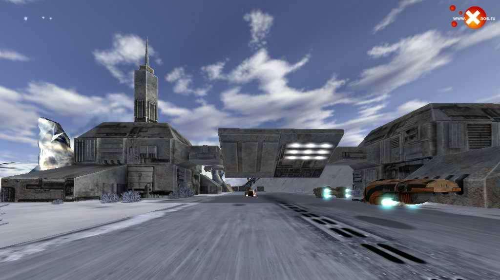 Další obrázky ze sci-fi arkády Hoverace