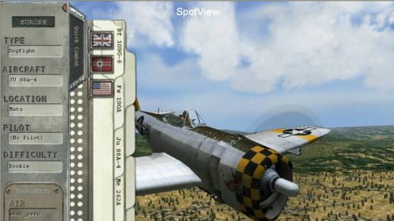 Ohlášení Combat Flight Simulator 3