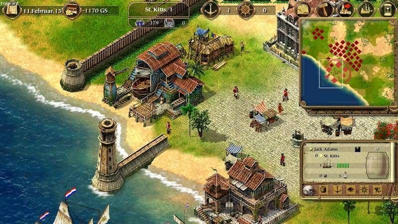 Port Royale, strategie od tvůrců Patrician II