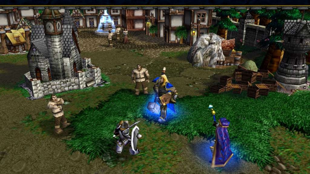 E3 - editor z Warcraft III: Reign of Chaos
