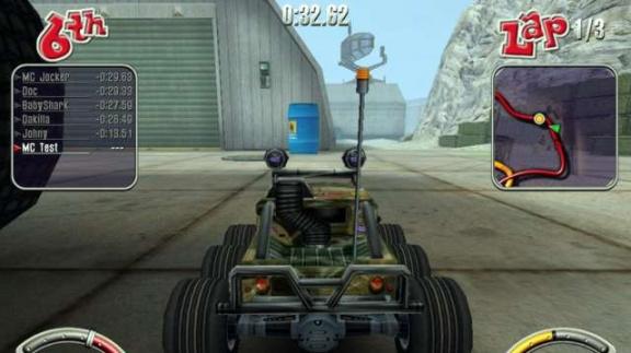 E3 - autíčka na dálkové ovládání v R.C. Cars