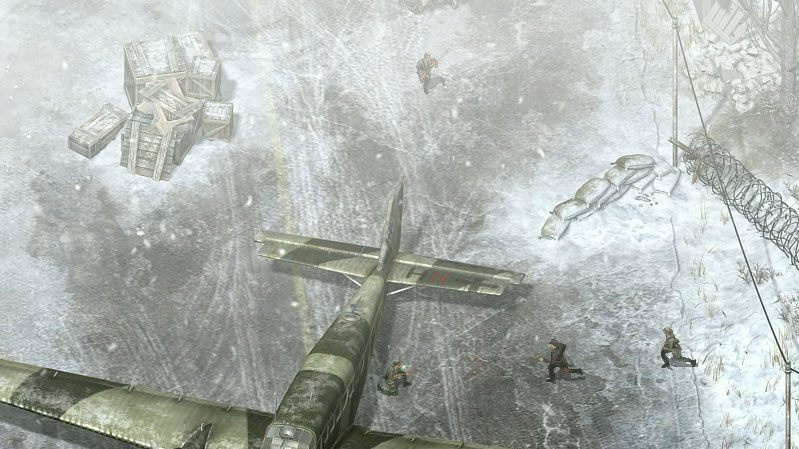 Poodhalena rouška Commandos 3