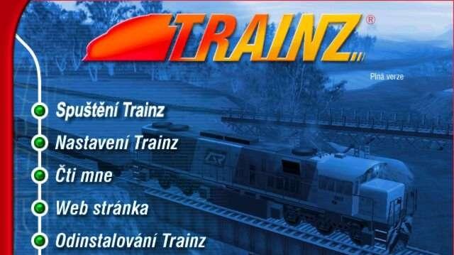 Odklad českého Trainz Railroad Simulatoru 2004