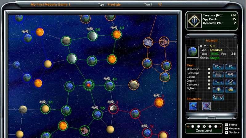 Onlinovka Starshift: The Zaran Legacy