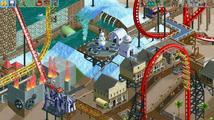 Zábavní park v RollerCoaster Tycoon II