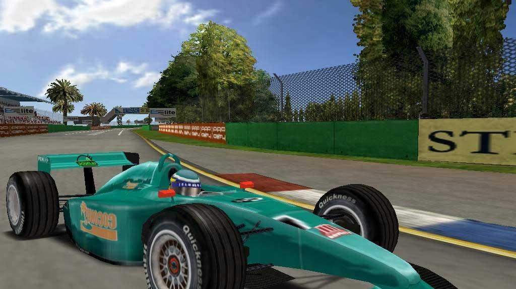 Pokračování F1 Racing Simulation na cestě