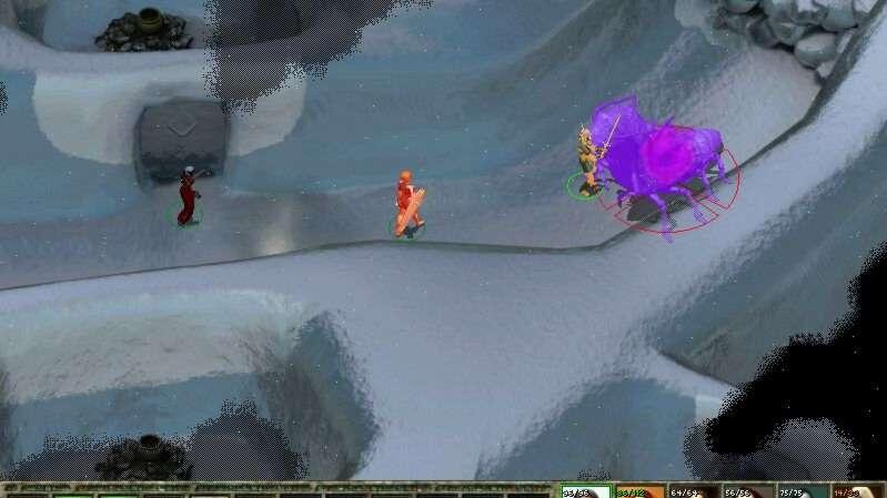 Icewind Dale II screenshoty