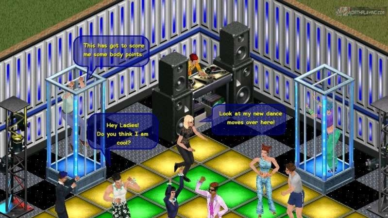 Virtuální zvrhlosti v Sims Online
