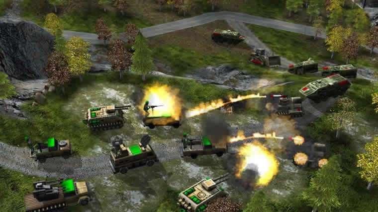 Command & Conquer: Generals screenshoty