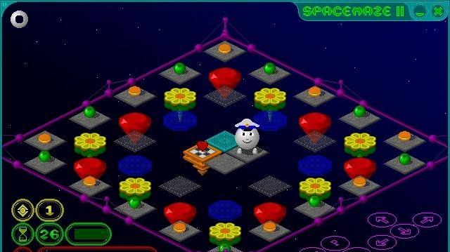 SpaceMaze 2 - bublinky ve vesmíru