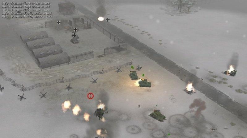 Nové shoty z WWII: Frontline Command