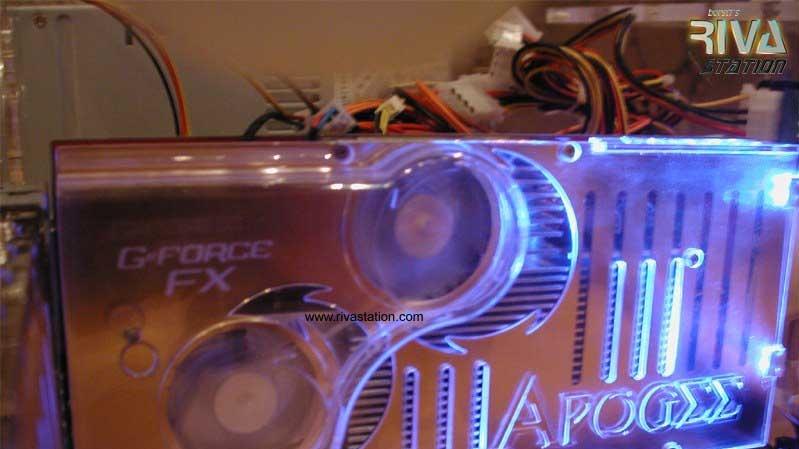 Prototyp GeForce FX Ultra od Chaintechu