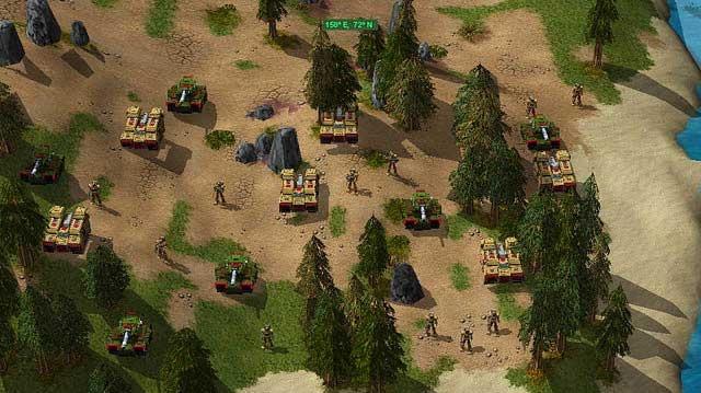 Konec on-line RTS Sovereign