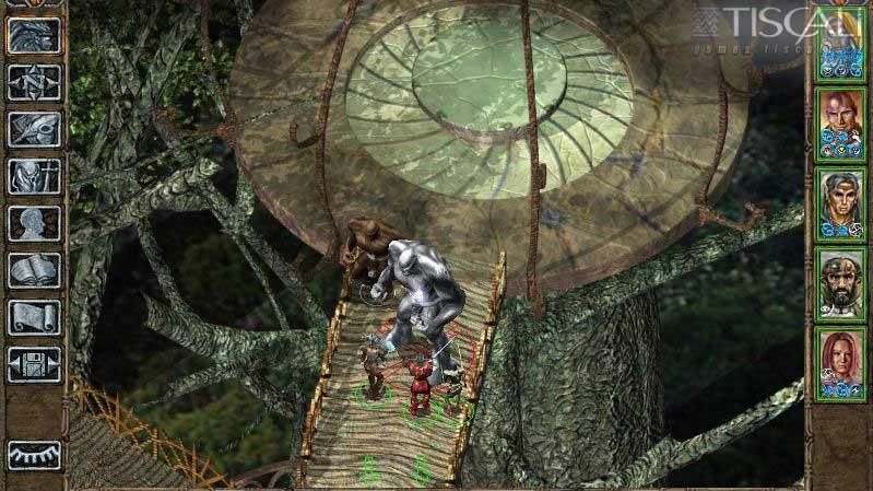 Obrázky a detaily o českém Baldurs Gate II
