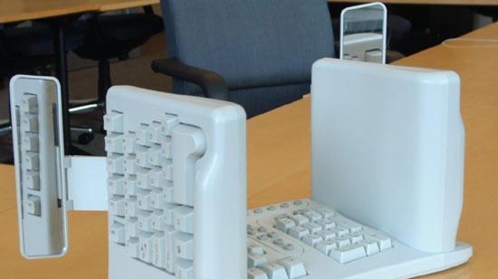 Futuristické a netradiční klávesnice