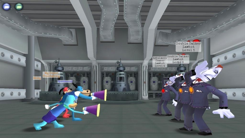 První MMORPG pro děti - Toontown Online