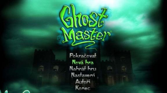 Strašidelní Ghost Master