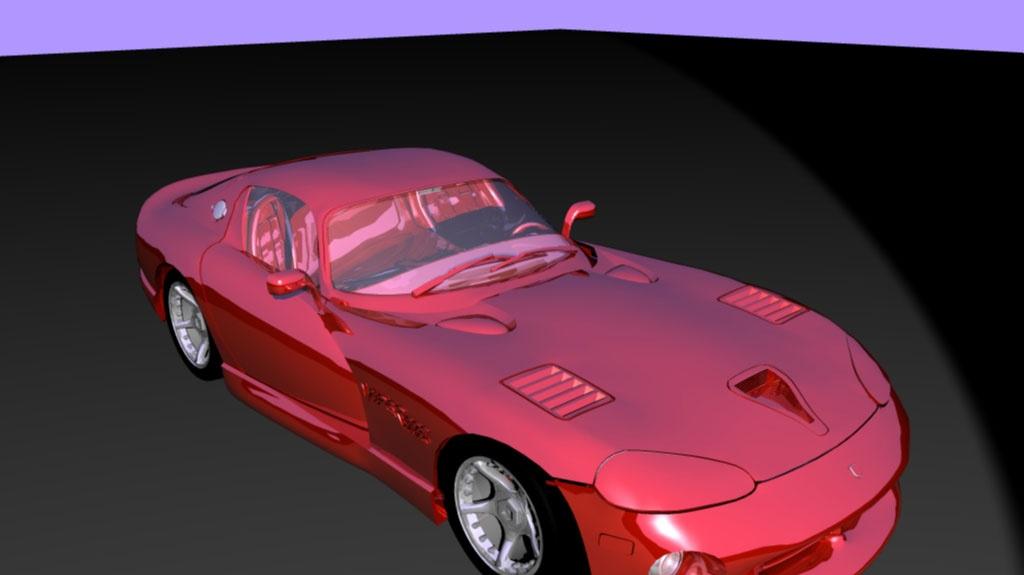RealStorm Benchmark a softwarový rendering