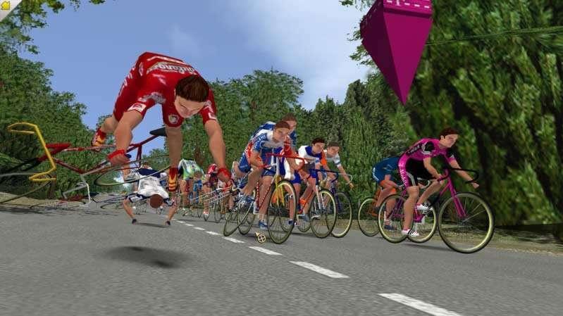 Závody na kolech Cycling Manager 3