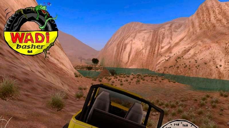 Závodní hra Wadi Basher 4x4