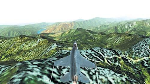 Oznámení simulátoru JetFighter V