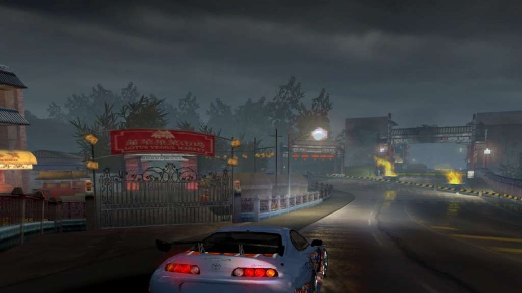 Ulicemi měst v Need for Speed Underground