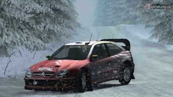 Ukázky z konzolového Colin McRae Rally 04