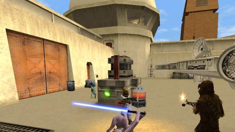 Světelné souboje v Jedi Knight: Jedi Academy