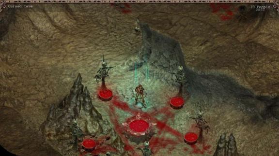 Pohledy z akčního RPG The Cult