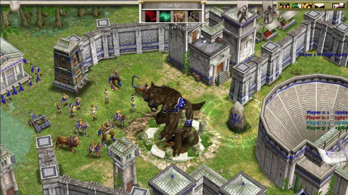 Atlanťané v Age of Mythology: The Titans
